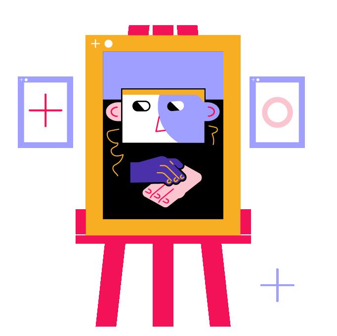 our work illustration